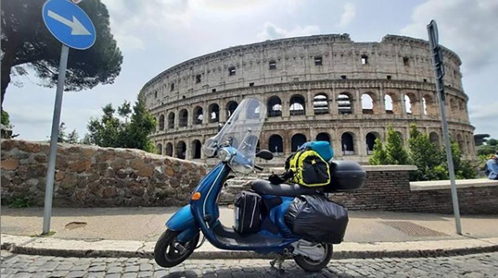 TeDoyLaVuelta Vespa en Roma